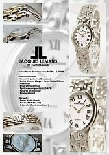 DAMEN JACQUES LEMANS UHR IN SCHÖNES OVAL FORM SWISS MADE
