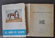 Equitazione Cavalli Nel Mondo del Galoppo Storia Puro Sangue Canti Derby 1950