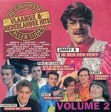 De Grootste Vlaamse & Nederlandse Hits Aller Tijden vol. 2 (CD)