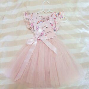 Designer Kidz Enchanted Unicorn Tutu Dress Size 1 12-18 Months