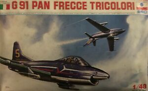 ITALERI FIAT G91 FRECCE TRICOLORI 1/48