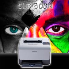 SAMSUNG Farblaserdrucker CLP-300N ohne Toner