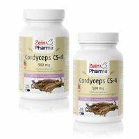 Cordyceps CS-4 240 Kapseln 1000mg Pro Tag Doppelpackung Höchste Qualität