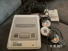 Super Nintendo Entertainment System Grau Spielekonsole SNES