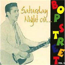 SATURDAY NIGHT ON BOP STREET Volume 3 NEW 1950s Rockabilly Rock 'n' Roll
