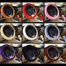 New Plush Fur Fluffy Car Steering Wheel Cover Handbrake Cover Gear Knob Cover