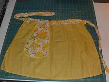 New listing Vintage Retro 1950s Yellow/Floral Women'S Apron