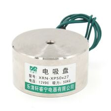 Generisches Metal XP50x27 Elektrohubmagnet Halten Elektromagnet 12V DC 50kg