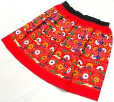 Boho Gypsy Embroidery India Kuchi Banjara Tribal Ethnic Belly Dance Rabari Skirt