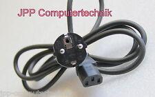 180cm PC Computer Monitor Kaltgerätekabel Buchse Strom Schuko Stecker Netz Kabel