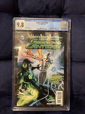 Green Lantern #20 CGC 9.8 White 1st Jessica Cruz Power Ring HBO Max 2013