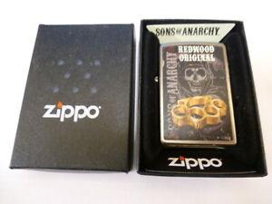 Sons of Anarchy Redwood Original Zippo Lighter - GENUINE -