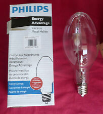 Philips 23259-5, 330W, Clear ED37 Metal Halide Lamp CDM330/U/O/4K EA