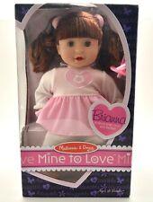 """Melissa & Doug Brianna Baby Doll: Mine to Love I Pacifier I 12"""" Tall I PQ10"""