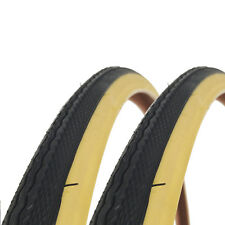 2x Raleigh CST 700 x 28c Traditional Gum/Tan Road Bike Tyres - T1240 (1 Pair)