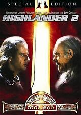 Highlander 2 The Quickening (DVD 2004 2-Disc Special Edition) RARE SCI FI