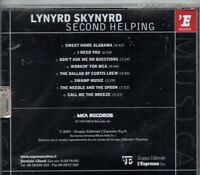 LYNYRD SKYNYRD-Second Helping (Italian Import) CD-Brand New-Still Sealed