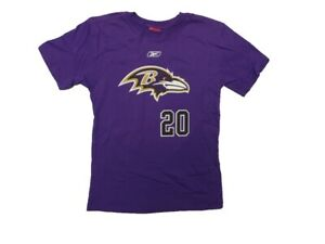 Baltimore Ravens Ed Reed Youth Vertical Name & Number T-Shirt