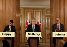 *5 Styles* BORIS JOHNSON Personalised BIRTHDAY CARD, party happy paper humour