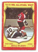 1973-74 O-Pee-Chee #20 Bill Flett Philadelphia Flyers Dark Back *