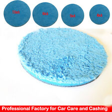 "Microfiber Cutting Pad Buffing Remove Moderate Paint Car Care 4"" Polishing Pad"