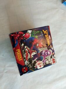 Vintage Marvel Spiderman 48 piece Puzzle new in box