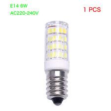 WOW - E14 6w LED Light Capsule Bulbs Replace Halogen Lamp Energy Saving AC 220v White 5 Pcs