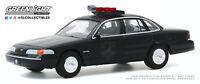 A.S.S NEU GreenLight 1/64 Ford Crown Victoria Police Interceptor Black Bandit