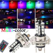 RGB H4 9003 HB2 27SMD LED Fog Light Bulb 3K Yellow 8K Ice Blue Green Purple 10K