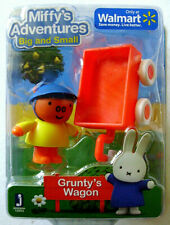MIFFY'S ADVENTURES Big and Small GRUNTY'S WAGON by Jazwares 12953