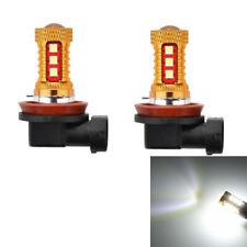 H8 10W Cold White 3030 Smd 15 Led Car Fog Lamps (Dc12-24V 2Pcs)