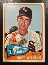 1965 Topps #276 Hoyt Wilhelm Chicago White Sox Baseball Card HOF