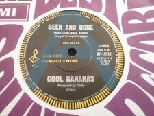 """COOL BANANAS BEEN AND GONE RARE A PROMO 45 7"""" AUSTRALIA 1973 ALBERT PRODUCTIONS"""