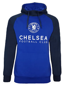 Official Chelsea FC Football Pullover Hoodie Mens Large CHH22