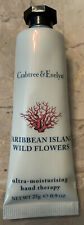 Crabtree & Evelyn Caribbean Island Wild Flowers Hand Therapy .9 oz/25g Purse Sz
