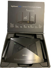 NETGEAR Nighthawk X10 7200 Mbps 7 Port Wireless AD Router (R9000-100NAS)