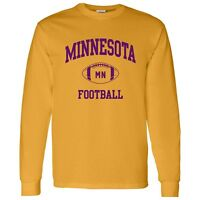 Minnesota Classic Football Arch Unisex Long Sleeve T-Shirt