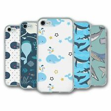 For iPhone 7 & 8 Silicone Case Cover Whale Collection 4