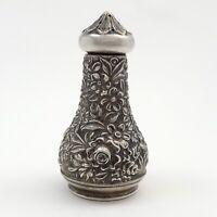 S Kirk Son Sterling Silver Floral Pattern 59A Salt or Pepper Shaker No Monogram