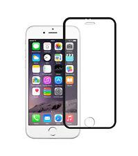 iPhone 6 Plus / 6S Plus Schutzglas Panzerglas Verbundglas Folie m. Rand Schwarz