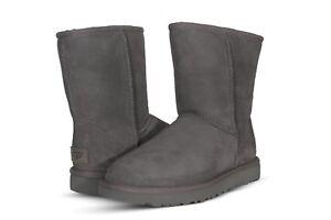 UGG Women's Shoes Classic Short II Boots 1016223 Black Chestnut Grey Chocolate