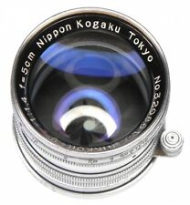 Nikkor 5cm f1.4 Tokyo Leica SM  #320861