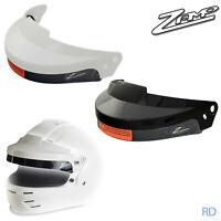 ZAMP - RZ Visor Open Face Rally Sun Visor - Black and White