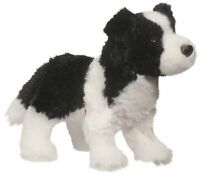 Douglas Meadow BORDR COLLIE Dog Plush Toy Stuffed Animal NEW