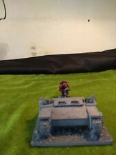 Warhammer 40k Wrecked vehicle terrain. Rhino, Razorback Whirlwind.