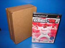 Lot of 4 Major League Baseball 2K11 MLB 2k11 (Sony Playstation 2 PS2) **NEW**