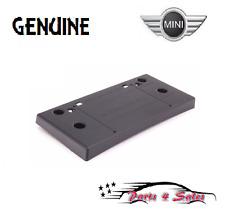 NEW Mini Cooper S Convertible R50 R52 R53 GENUINE Front License Plate Base NEW