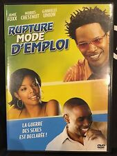 DVD - Comme neuf - RUPTURE MODE D'EMPLOI -Zone 2 - JAMIE FOXX