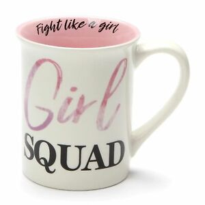 Enesco Our Name is Mud Girl Squad Successful Women Coffee Mug 16 Ounce
