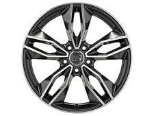 Cerchio in Lega MSW 71 by OZ 7.5x17 ET35 5x112 Gloss Dark Grey Full Polished